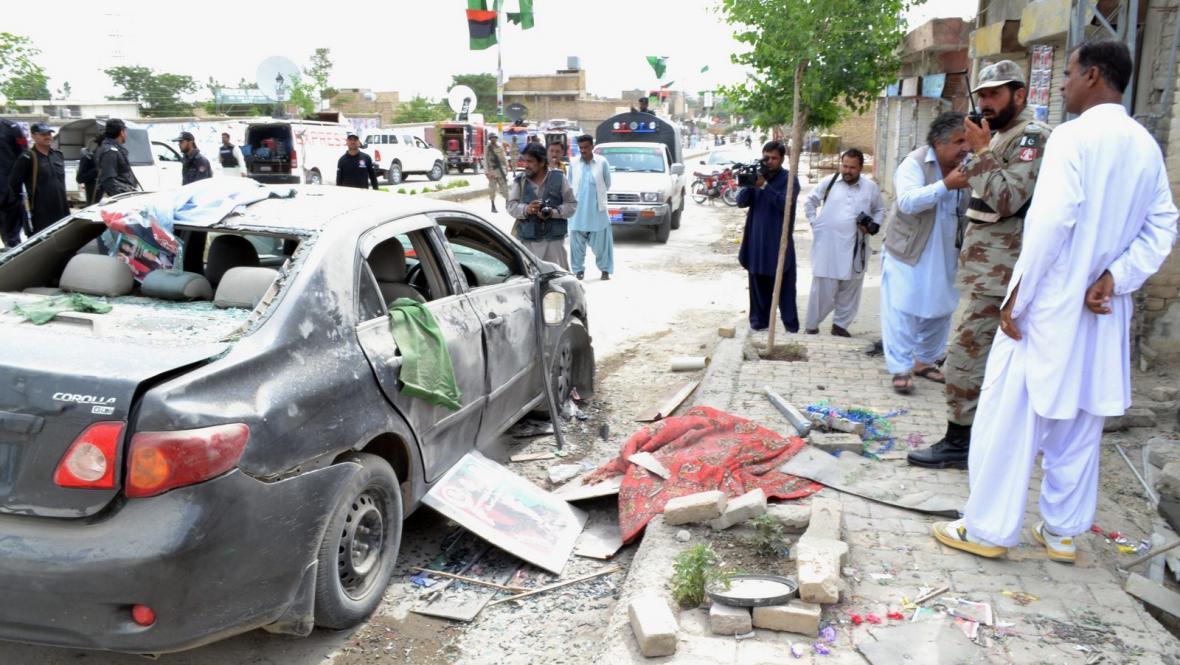Volební násilí v Pákistánu