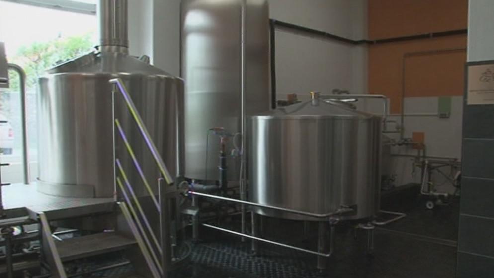 Nový malý pivovar ve Vískách patří k těm nejmodernějším