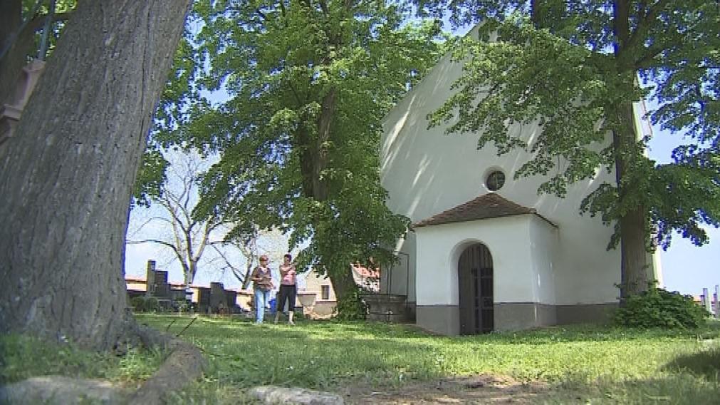 Kaple sv. Markéty u zaniklé osady Topanov