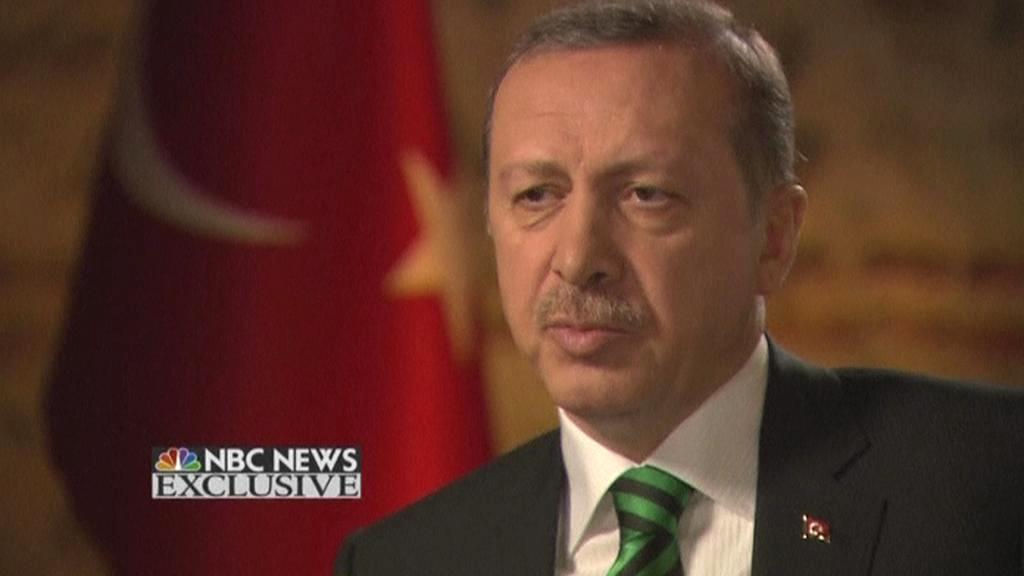 Turecký premiér v rozhovoru pro NBC