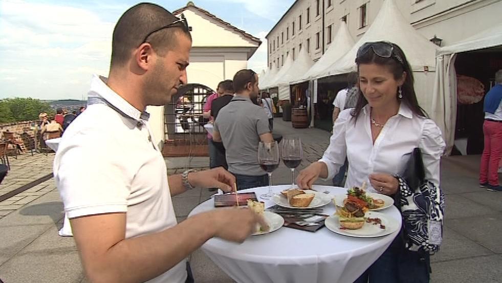 Špilberk Food Festival přilákal řadu milovníků dobrého jídla