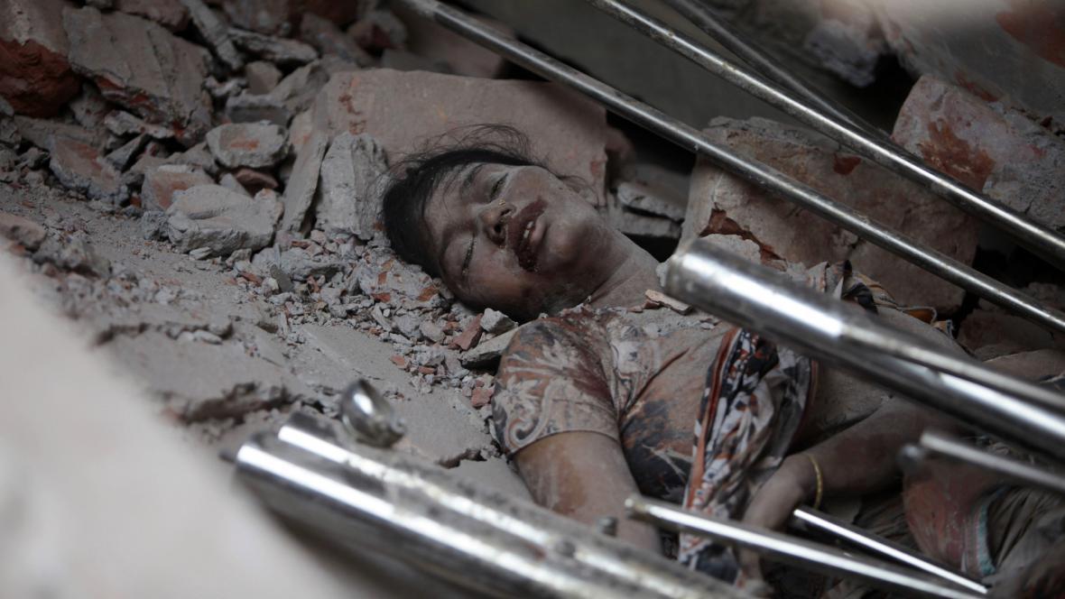Neštěstí v Bangladéši