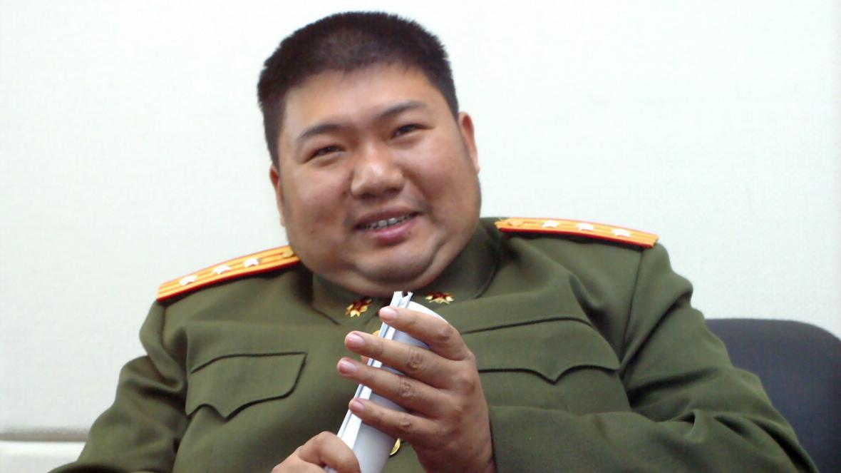 Vnuk Mao Ce-tunga Mao Sin-jü