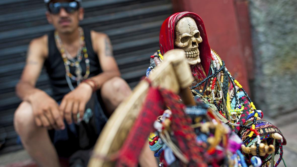 Mexický kult Santa Muerte