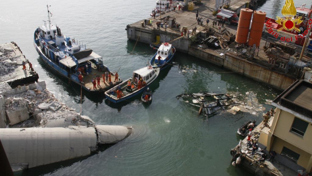 Nehoda v janovském přístavu
