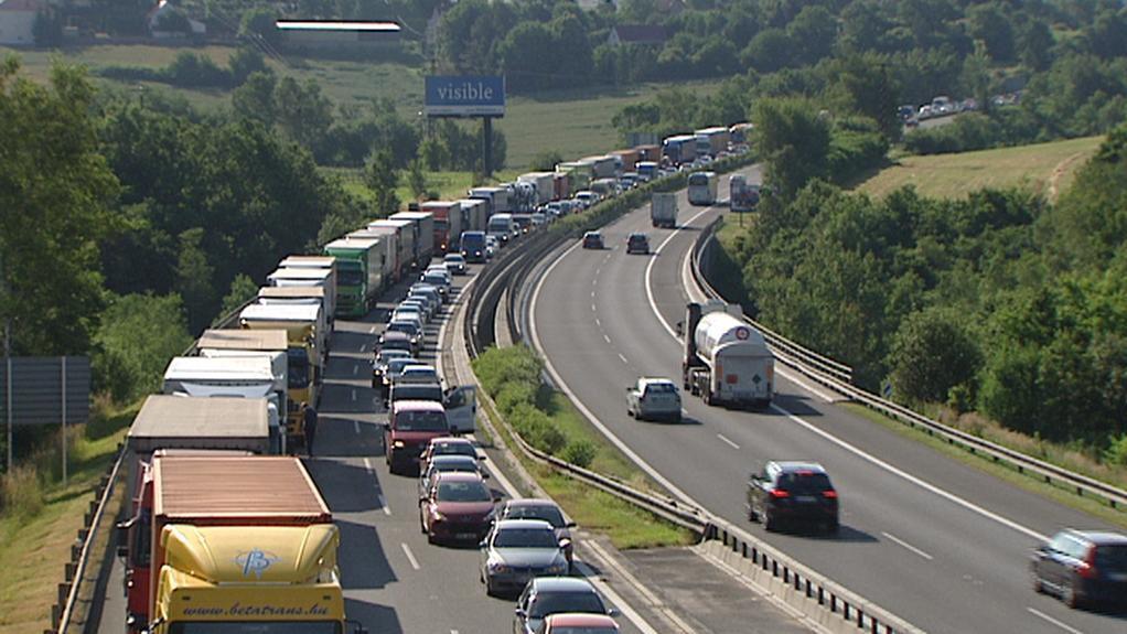 Oprava dálnice D1 komplikuje dopravu