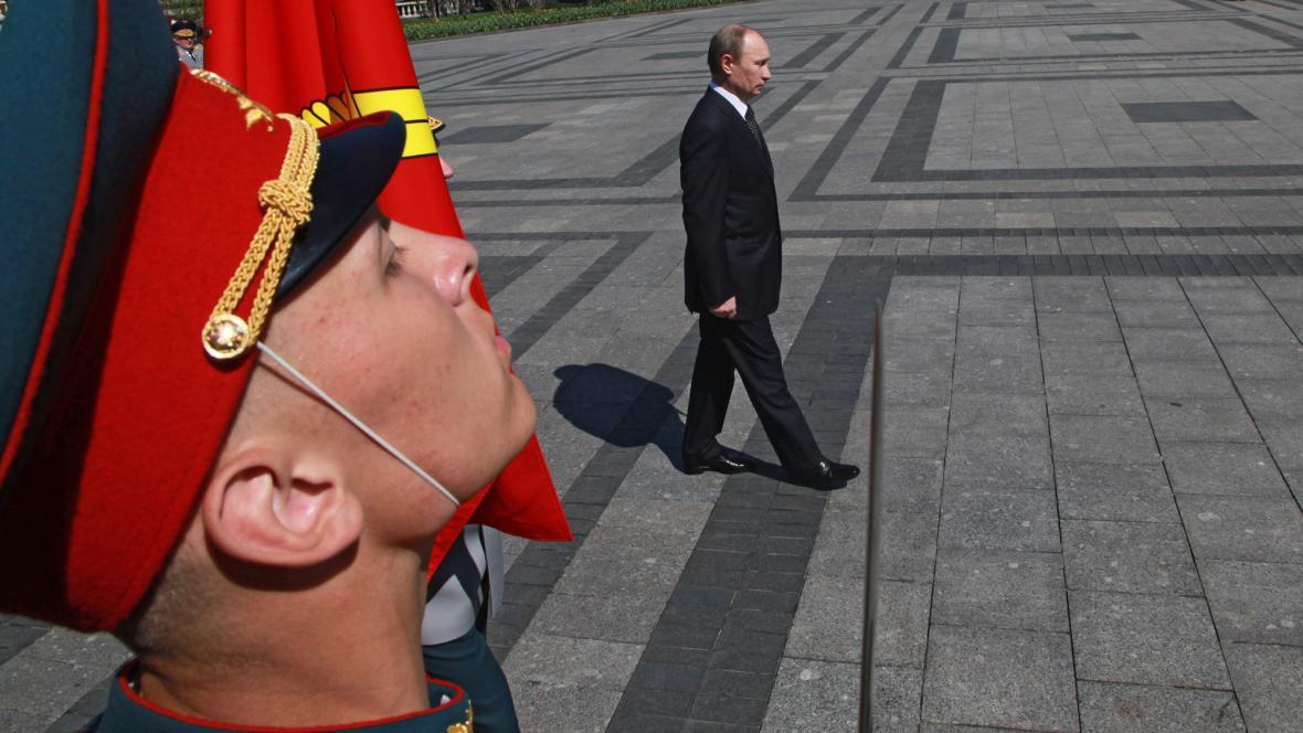 Oslavy výročí konce války v Moskvě