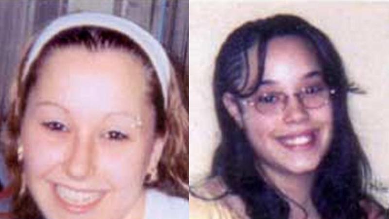 Amanda Berryová a Gina DeJesusová v době únosu