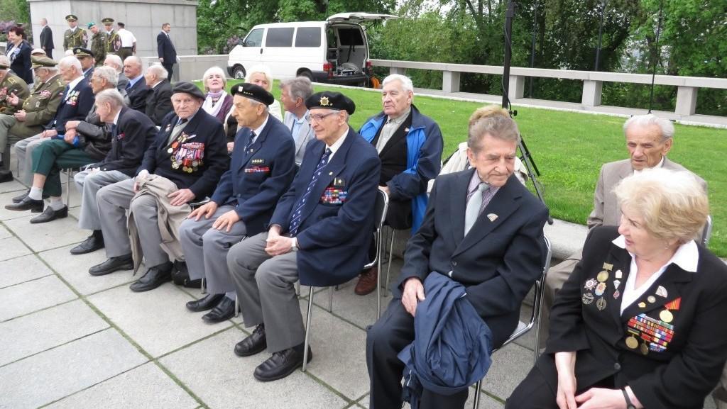 Oslava výročí konce druhé světové války