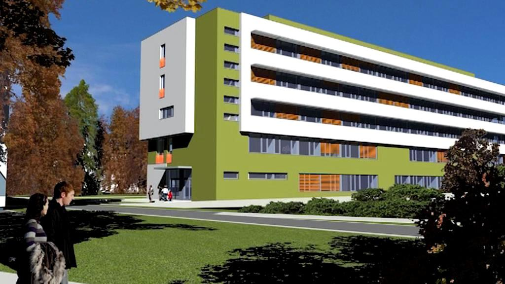 Projekt nové interny vsetínské nemocnice