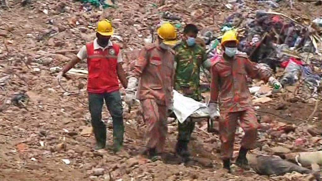 Oběti tragédie v Bangladéši