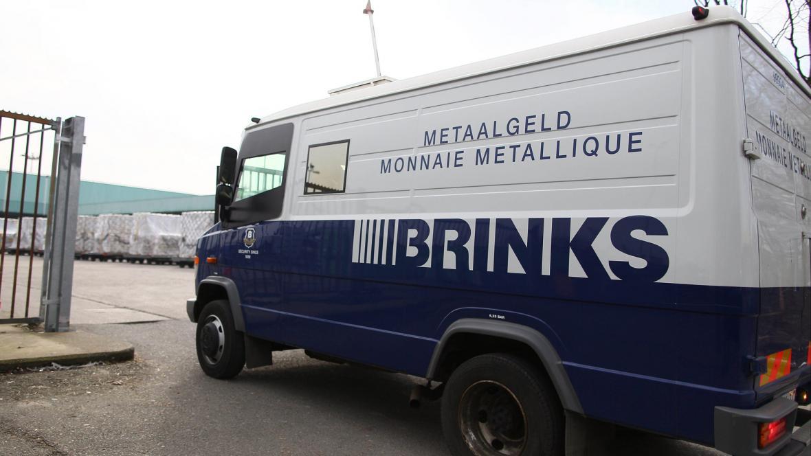 Auto bezpečnostní agentury Brink's