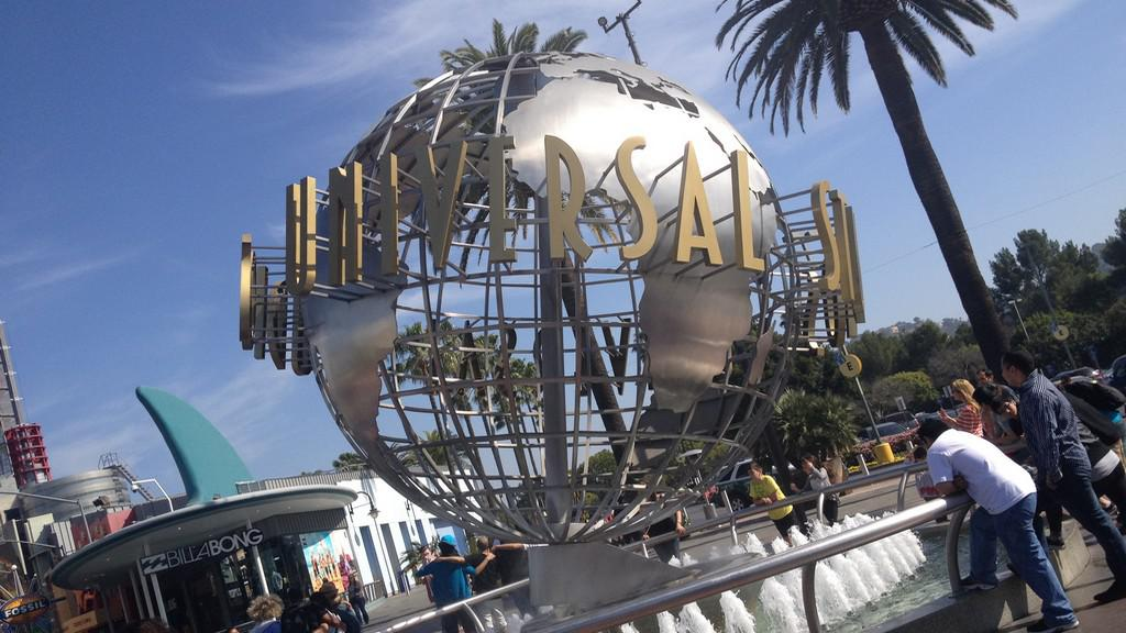 Známé logo Universal Studios