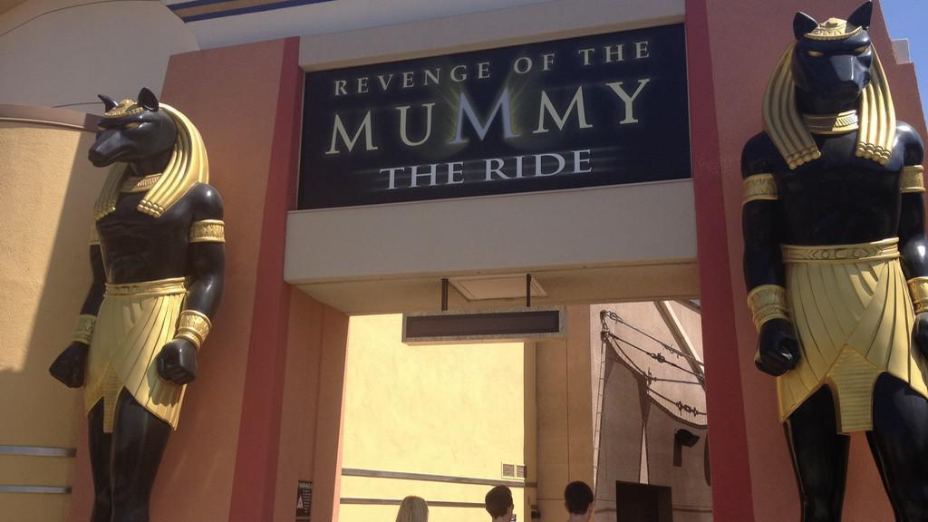 Vstupní brána do království mumie