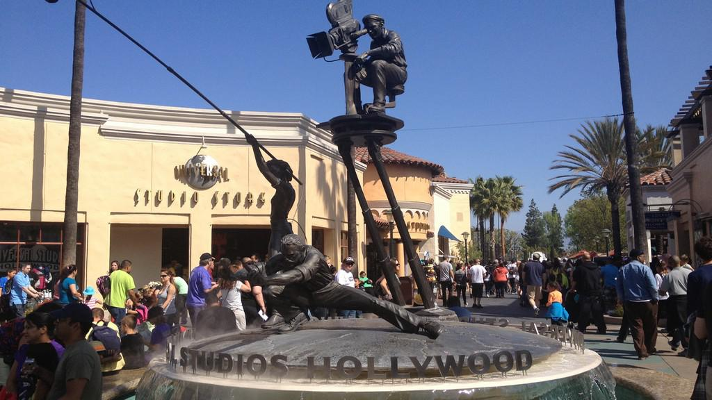 Jeden ze symbolů parku Universal Studios