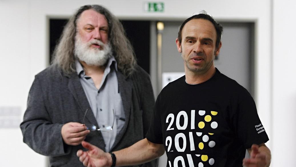 Josef Mištera a Petr Forman