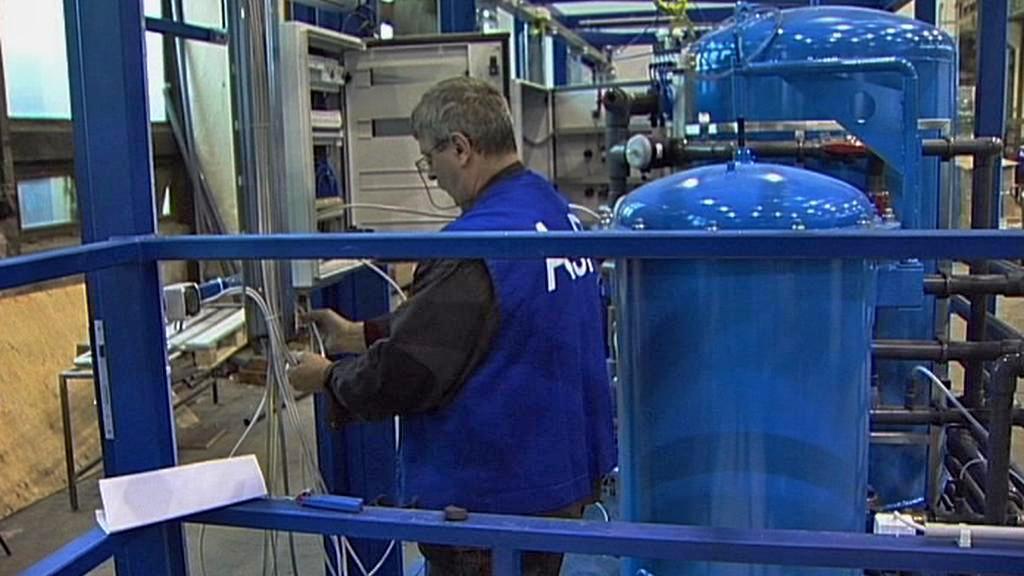 Maďarská továrna na vodní filtry