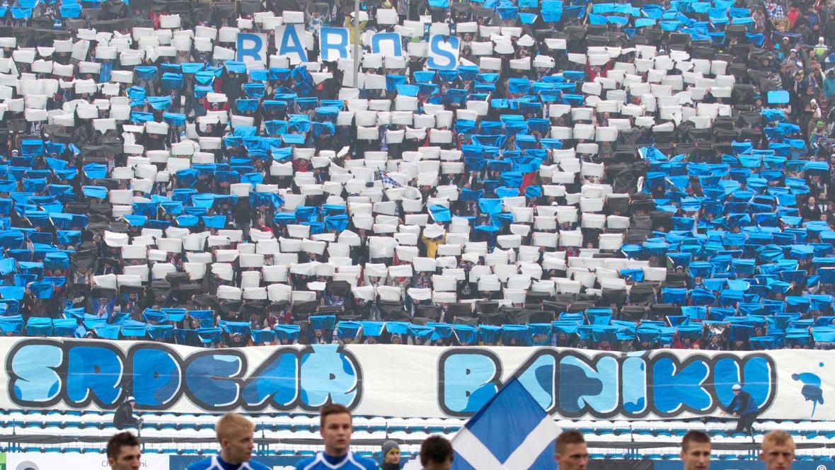 Fanoušci vítají Milana Baroše