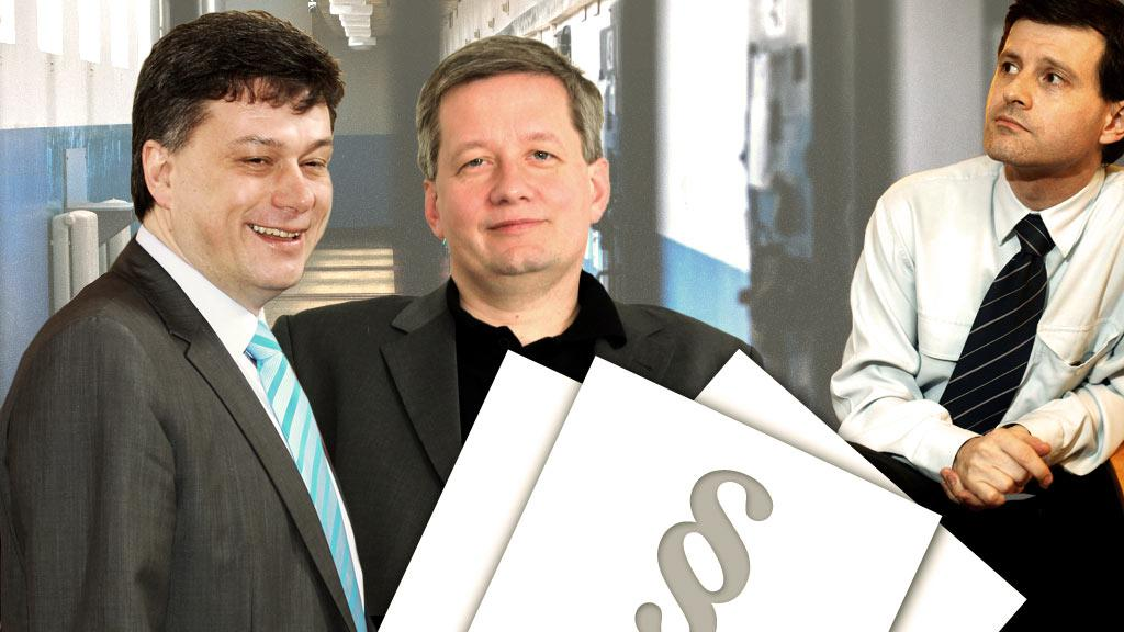 Pavel Blažek, Zdeněk Koudelka, Pavel Hasenkopf