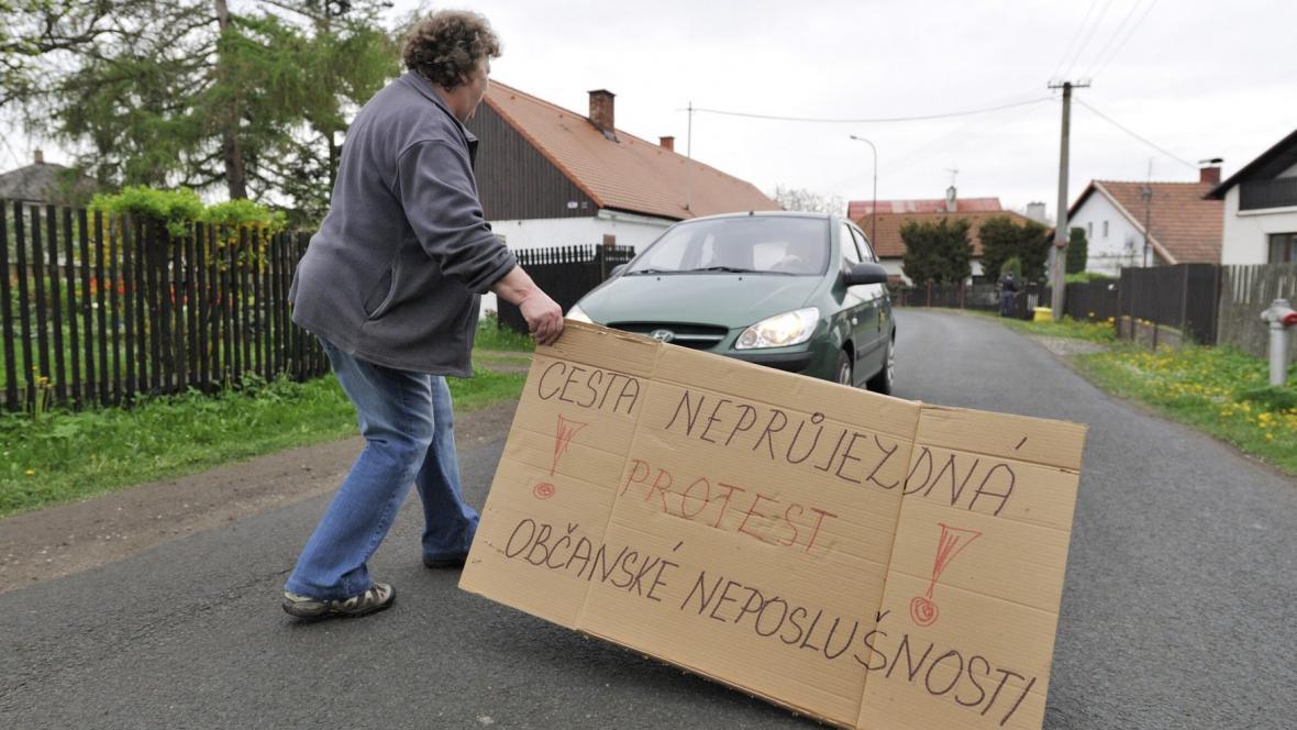 Blokáda v Divci