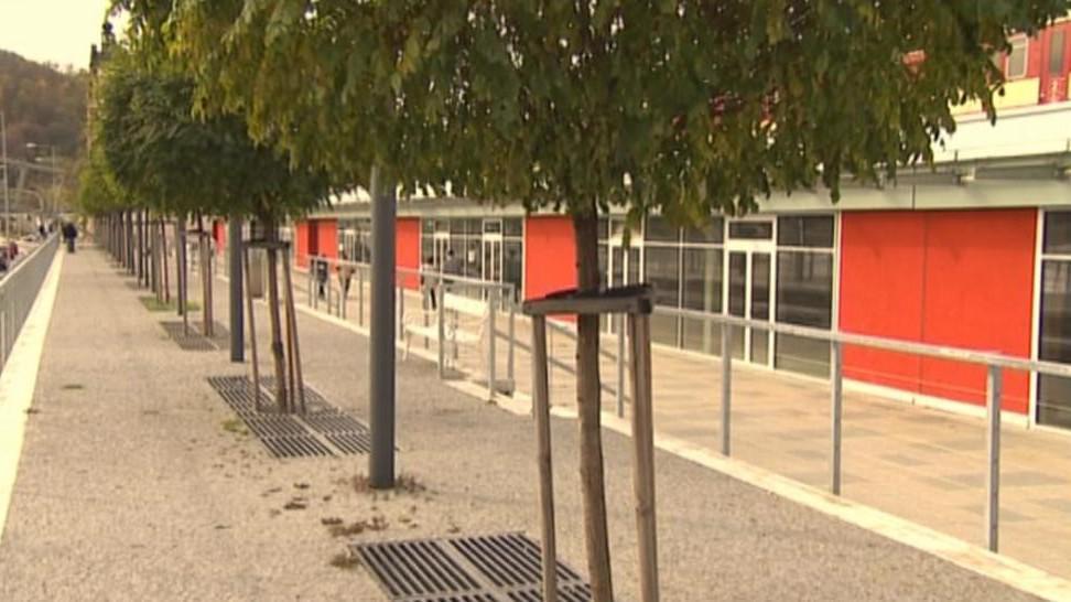 Centrum v Ústí postavené z evropských dotací