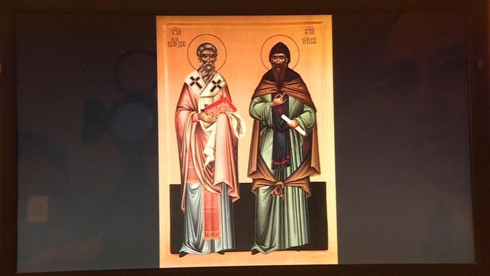 Digitalizovaná ikona slovanských věrozvěstů
