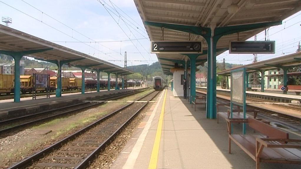 Vlakové nádraží v České Třebové