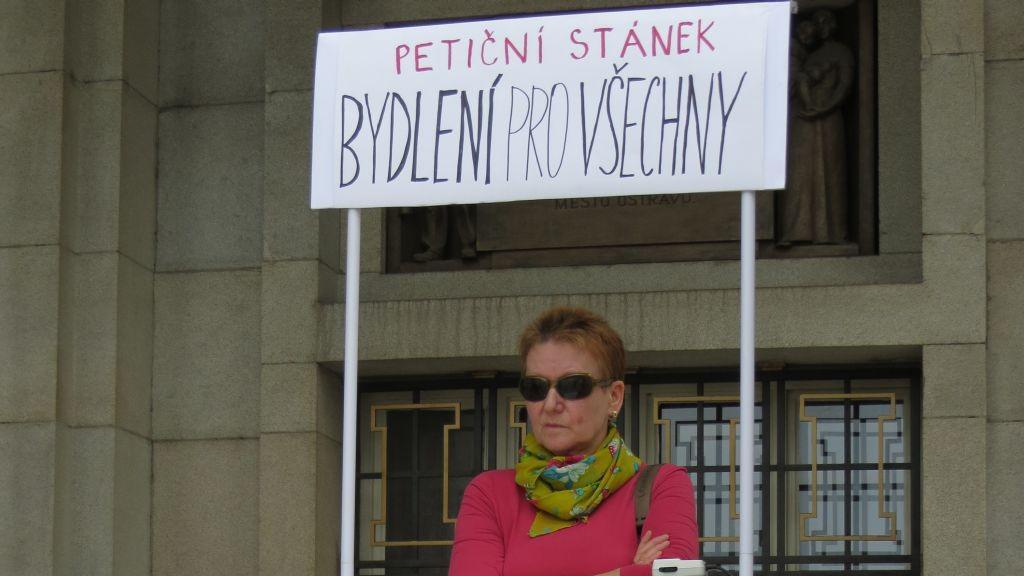 Petice Stop vystěhování chudých do ubytoven