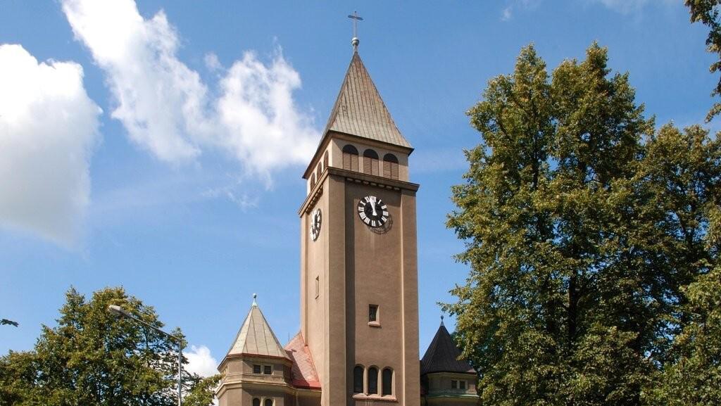 Evangelický kostel Na Rozvoji Český Těšín