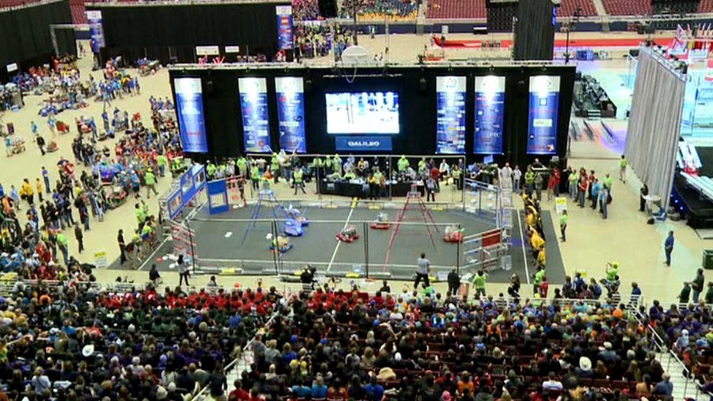 USA hostily soutěž v ovládání robotů