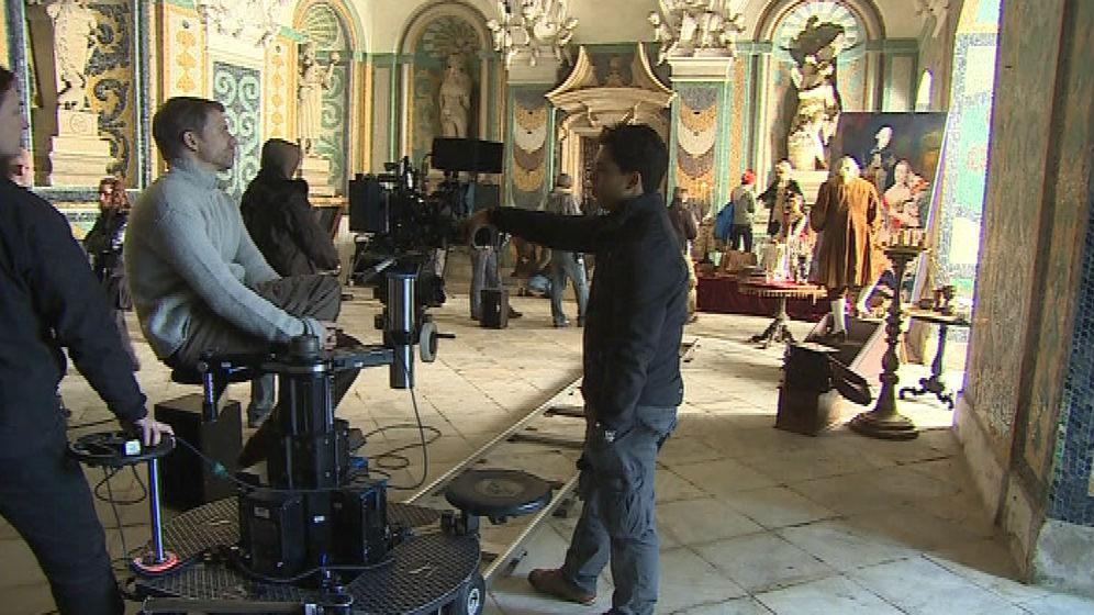 Nyní se na zámku v Kroměříži opět natáčí. Tentokrát historický dokument Kateřina Veliká