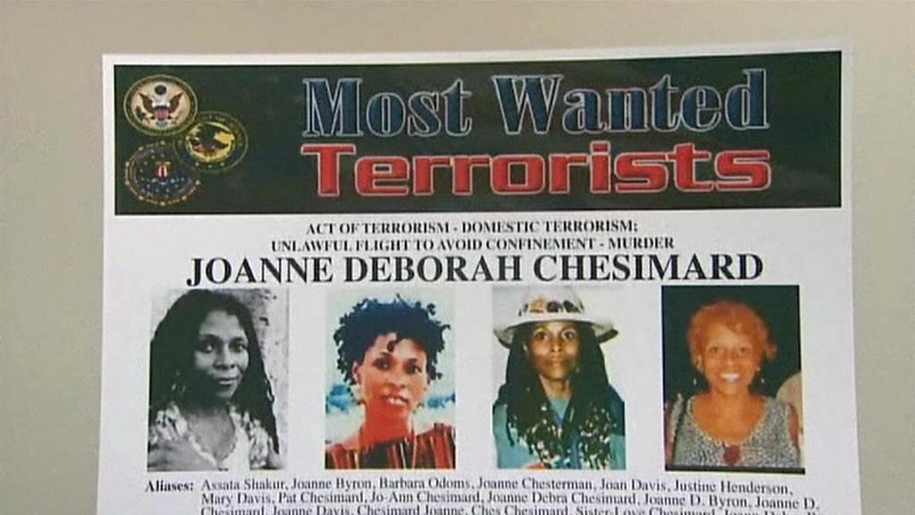 FBI pátrá po Joanne Deborah Chesimardové