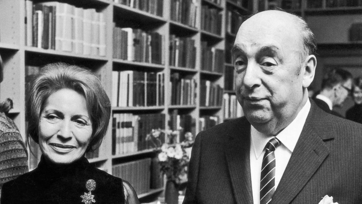 Pablo Neruda s manželkou Matildou