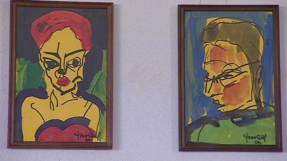 Autoportréty Tomáše Vavříčka