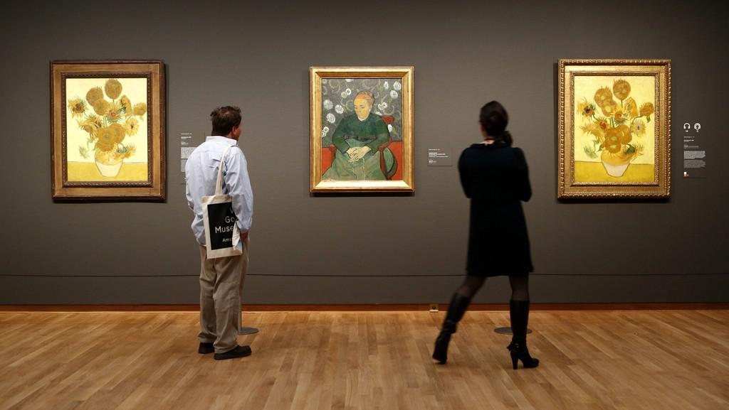 Muzeum van Gogha v Amsterodamu