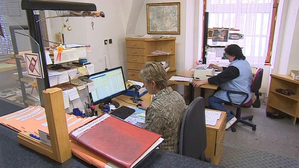 Pracovnice městského úřadu ve Znojmě