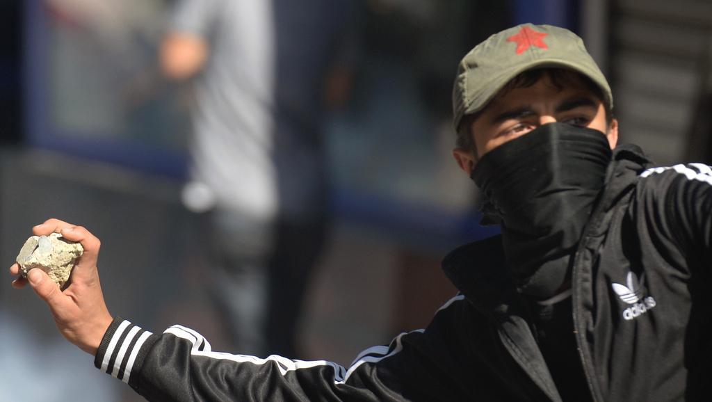 Nepokoje v ulicích Istanbulu