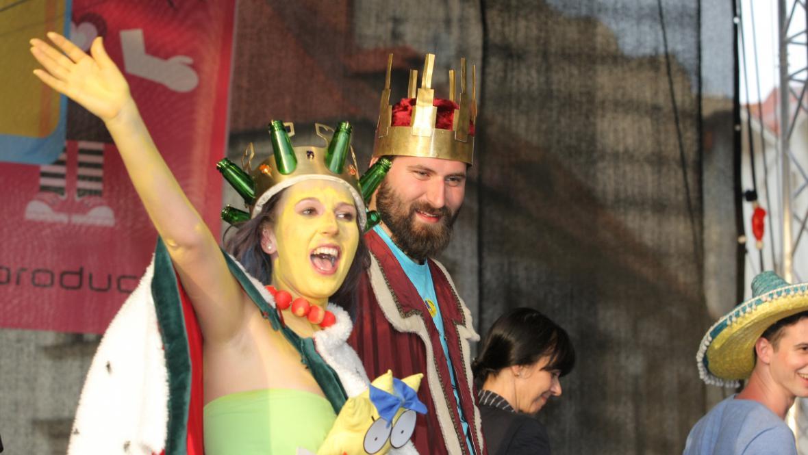 Nová královna Majálesu v Plzni Marge