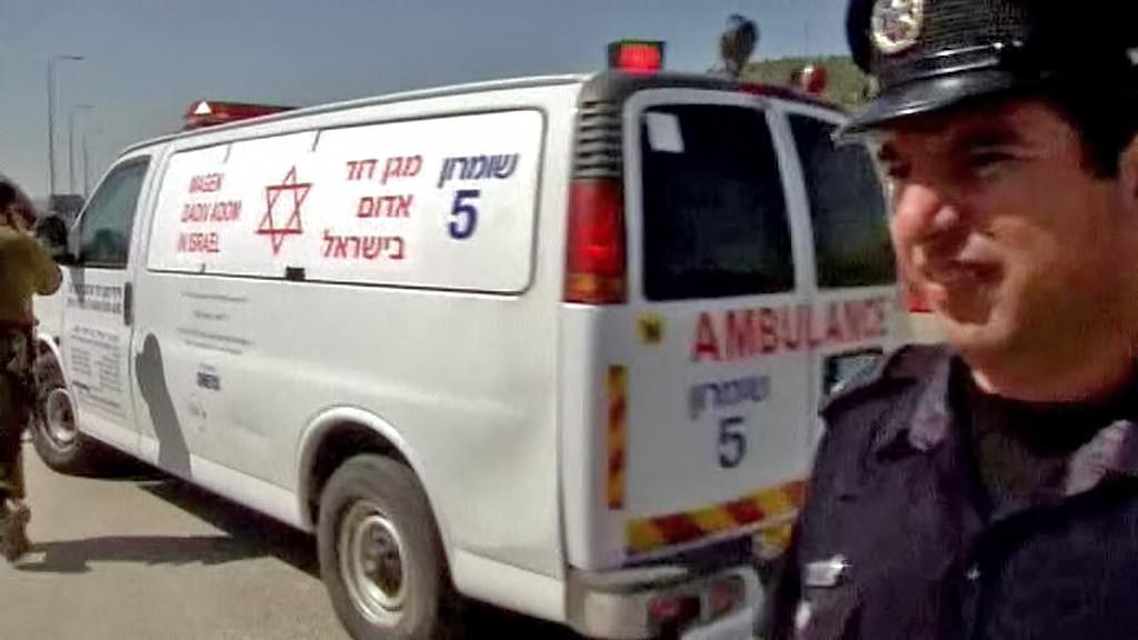 Izraelští policisté a záchranáři