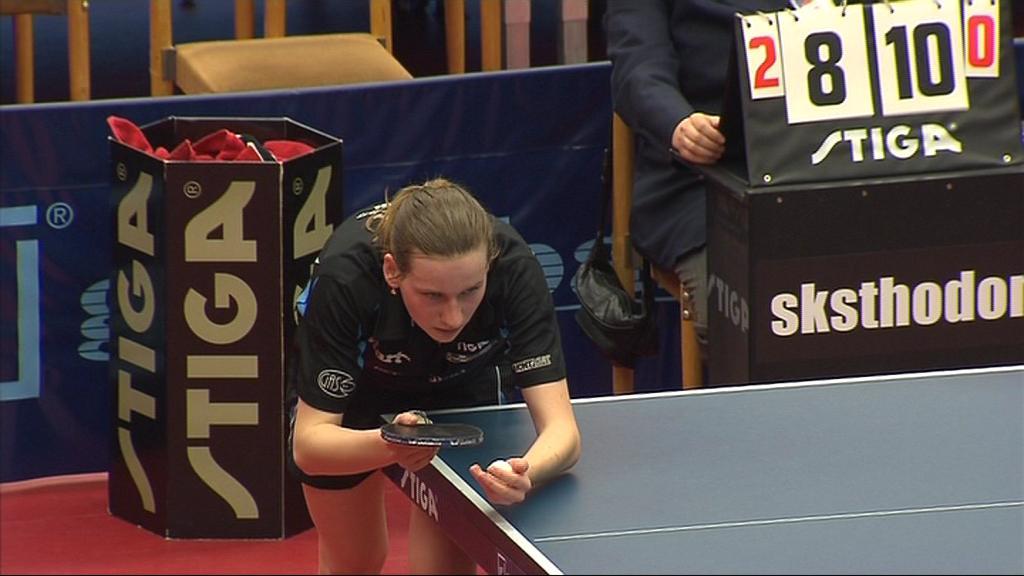 Hana Matelová po osmi vyhraných finálových duelech prohrála