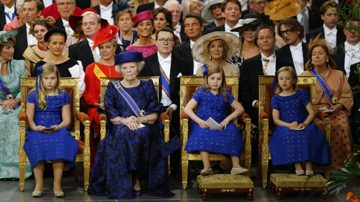 Princezna Beatrix a dcery krále Willema-Alexandera