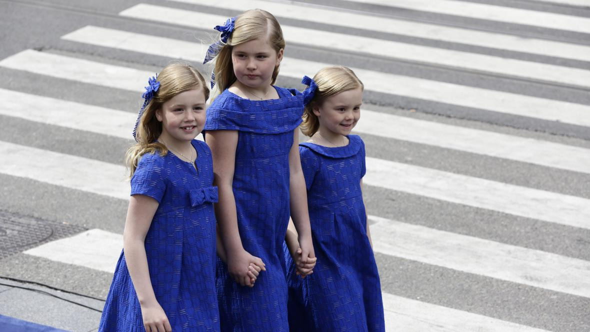 Dcery krále Willema-Alexandera