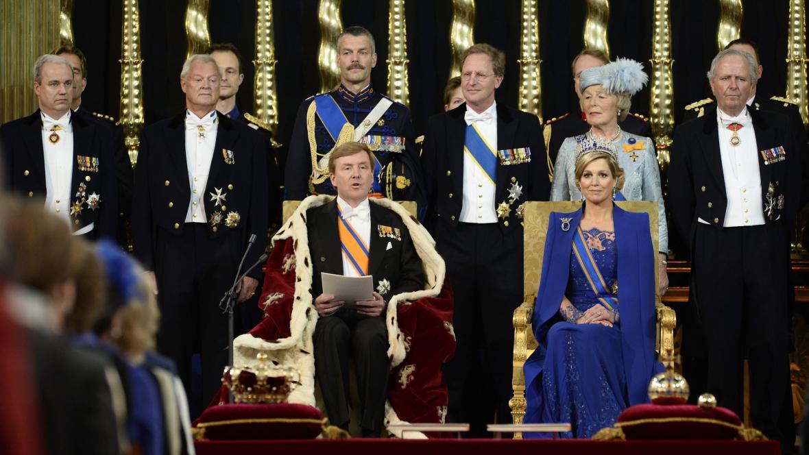 Král Willem-Alexander a královna Máxima