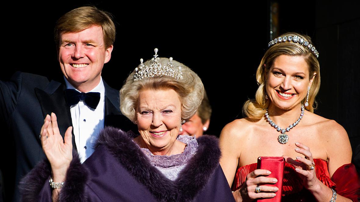 Willem-Alexander, Beatrix a Máxima