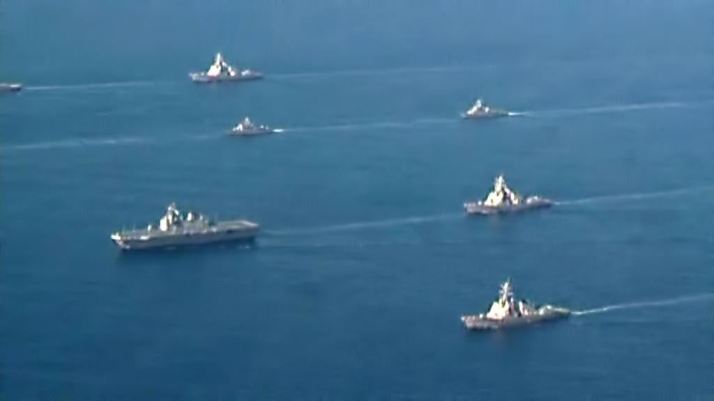 Korejsko-americké námořní manévry