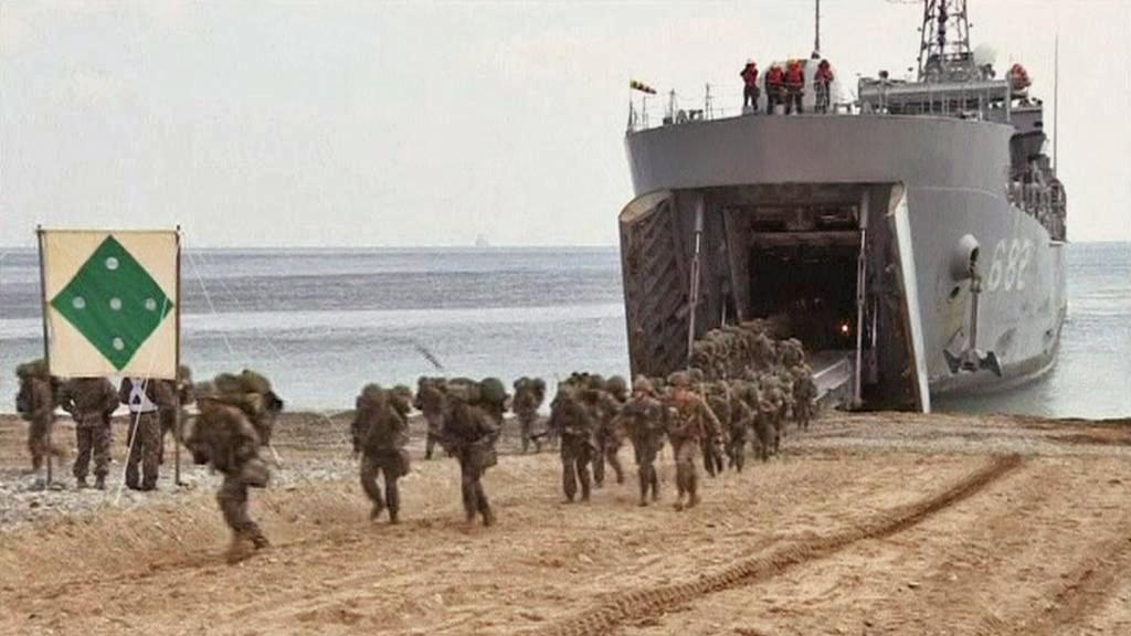 Americko-jihokorejské vojenské manévry