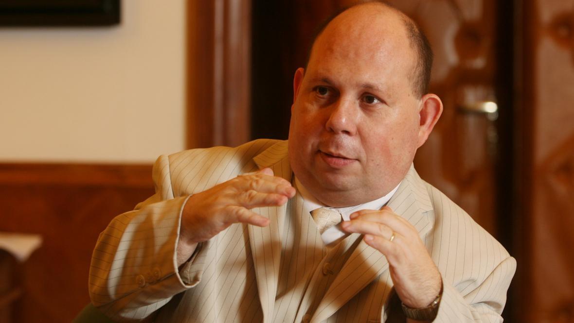 Tomáš Cikrt na snímku z roku 2007