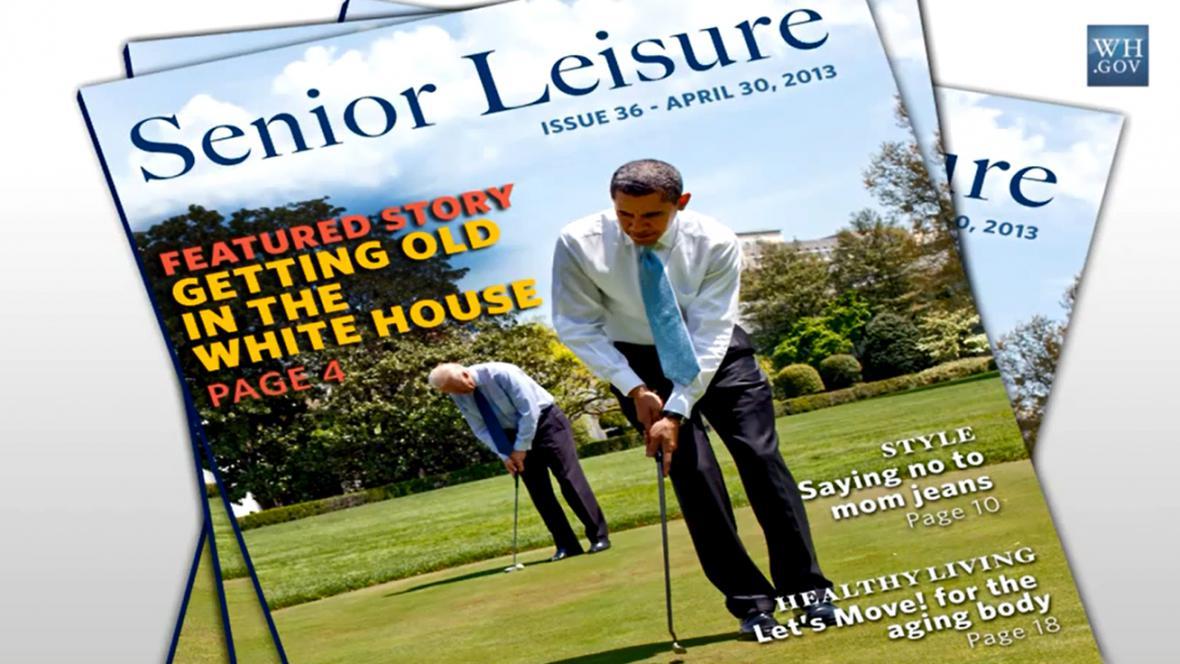 Obama na obálce fiktivního časopisu