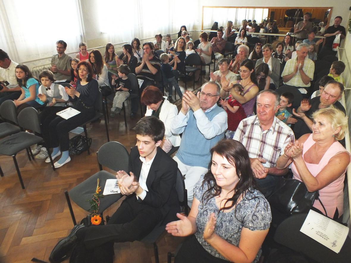 Žákovský koncert ZUŠ v Boskovicích