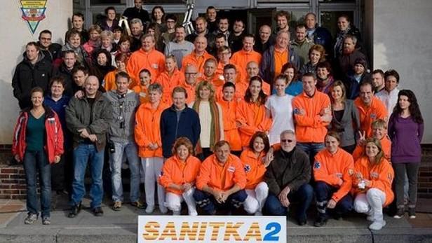 Herci a tvůrci seriálu Sanitka 2